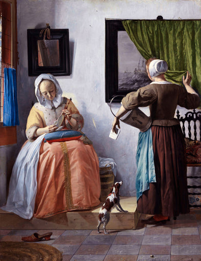 Gabriël Metsu - Woman Reading a Letter