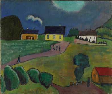 Gabriele Münter - From Norway (Tjellebotten)