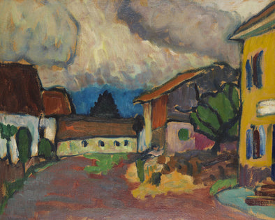 Gabriele Münter - Homestead In Murnau