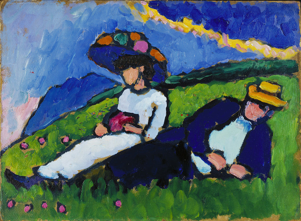 Gabriele Münter - Jawlensky and Werefkin