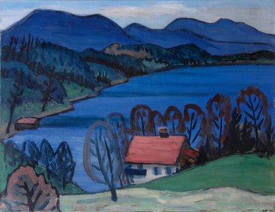 Gabriele Münter - See Am Ostertag