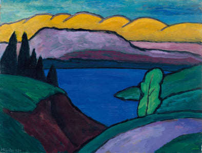 Gabriele Münter - The Blue Lake