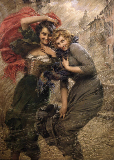 Gaetano Bellei - A Gust of Wind