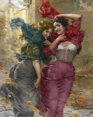 Gaetano Bellei - A Windy Day