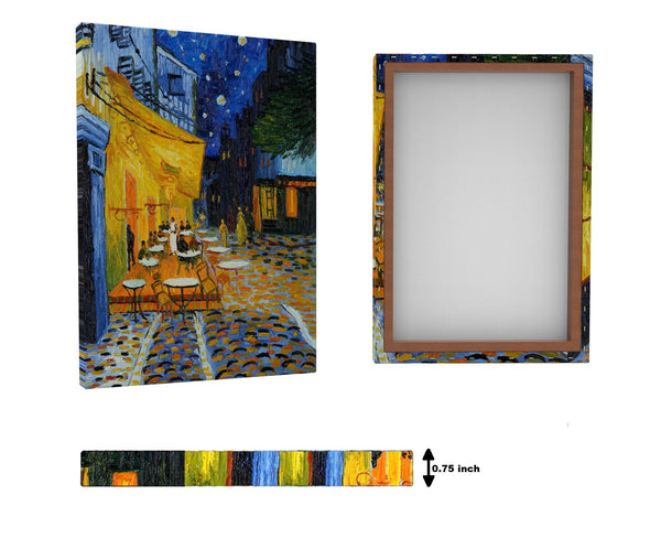Vincent van Gogh - Cafe Terrace at Night - Get Custom Art