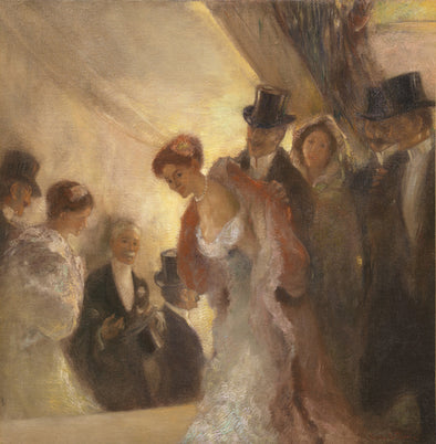 Gaston La Touche - À L'Opéra