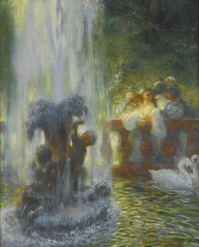 Gaston La Touche - Fête Galante