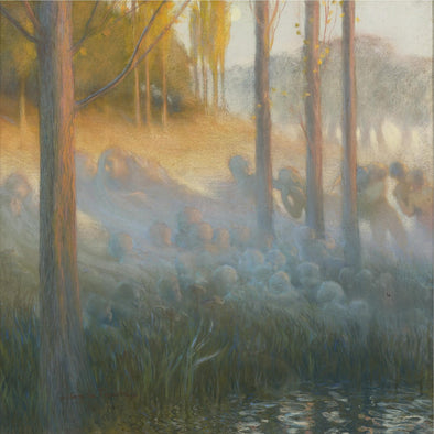 Gaston La Touche - Spirits Of The Night