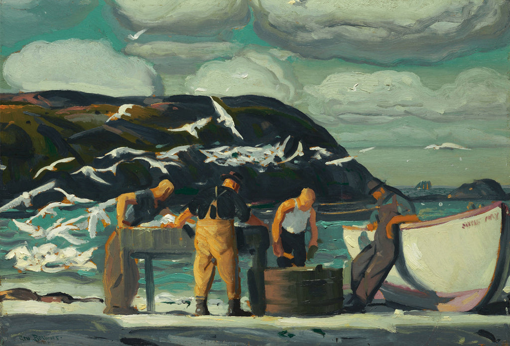 George Bellows - Cleaning Fish