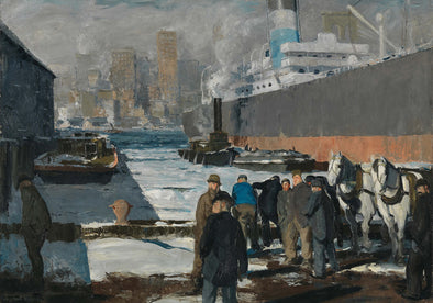 George Bellows - Men of the Docks