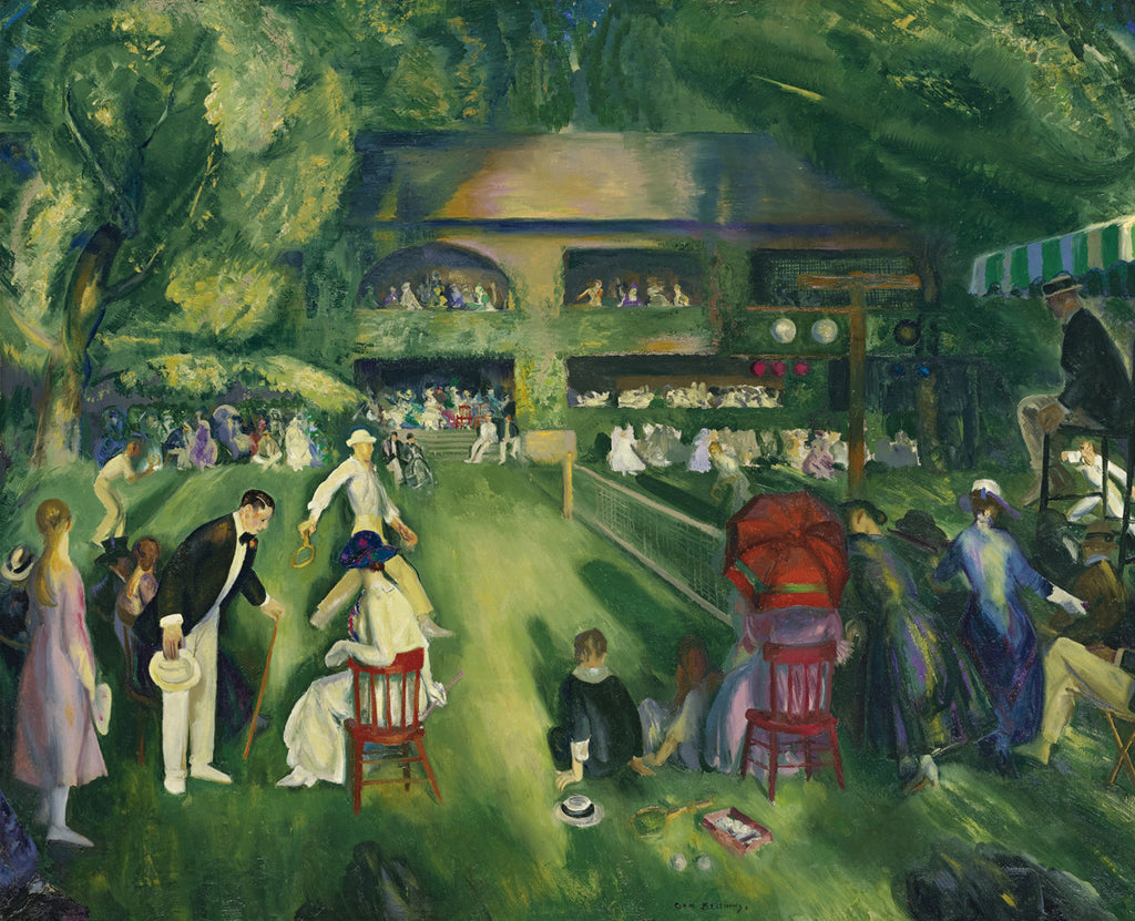 George Bellows - Tennis at Newport