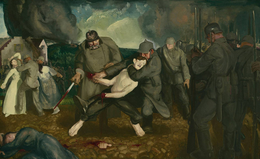 George Bellows - The Germans Arrive