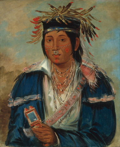 George Catlin - Kee mo rá nia, No English, a Dandy