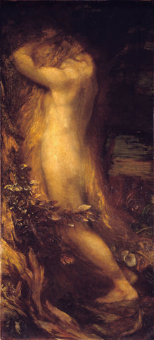 George Frederick Watts - Eve Repentant