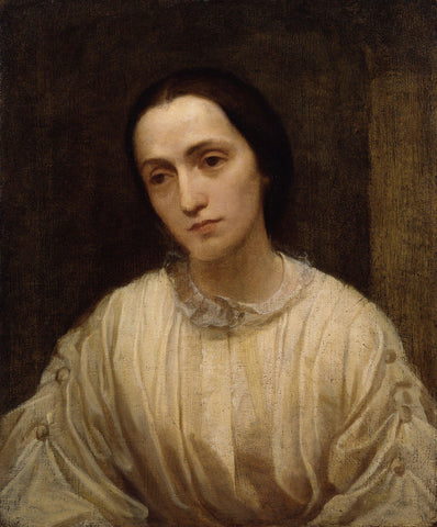 George Frederick Watts - Painting of Julia Margaret Cameron