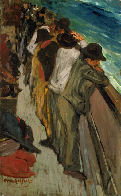 George Luks - In the Steerage