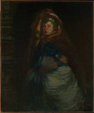 George Luks - The Old Duchess