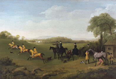 George Stubbs - Racehorses Exercising