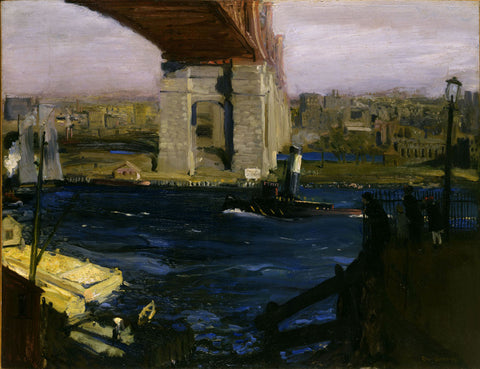 George Wesley Bellows - Bridge, Blackwells Island