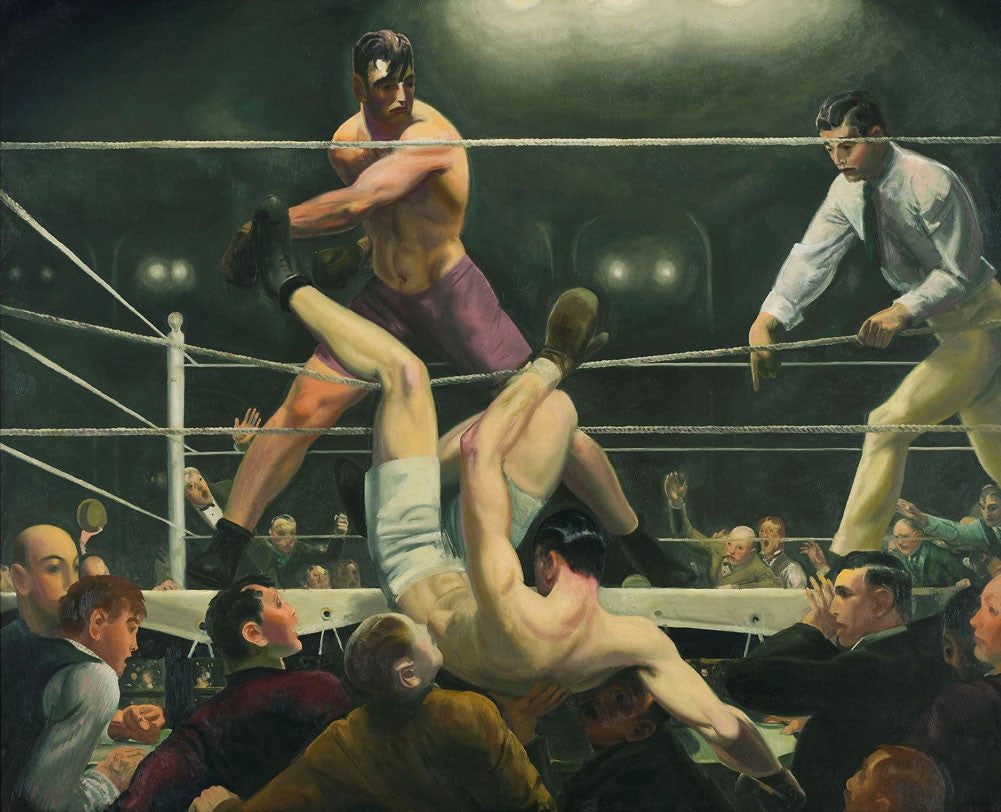 George Wesley Bellows - Dempsey and Firpo 1924