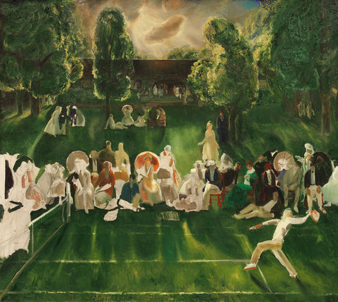 George Wesley Bellows - Tennis Tournament