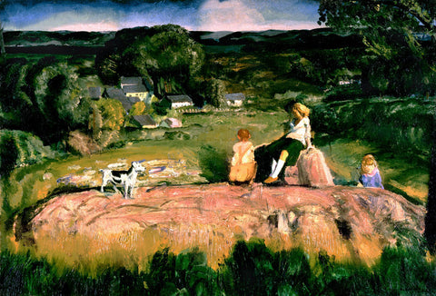 George Wesley Bellows - Three Children
