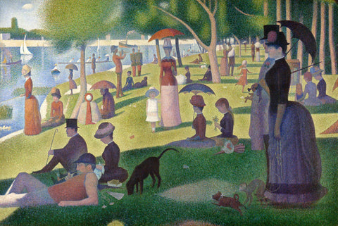 Georges Seurat - A Sunday on La Grande Jatte