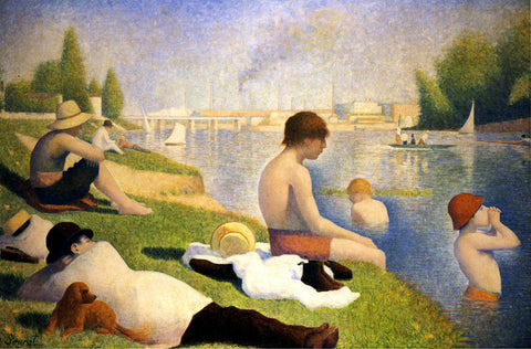 Georges Seurat - Bathers