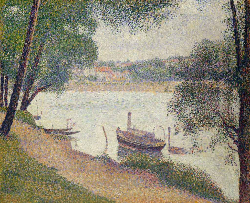 Georges Seurat - Gray Weather, Grande Jatte