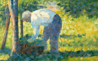 Georges Seurat - The Gardener