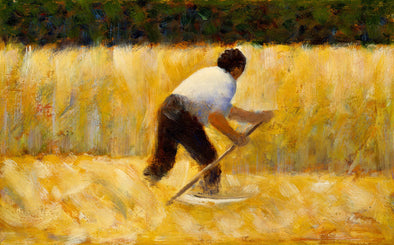Georges Seurat - The Mower