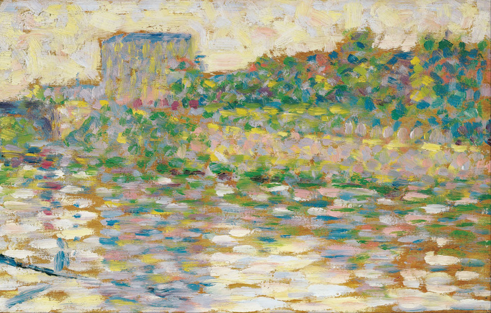 Georges Seurat - The Seine at Courbevoie