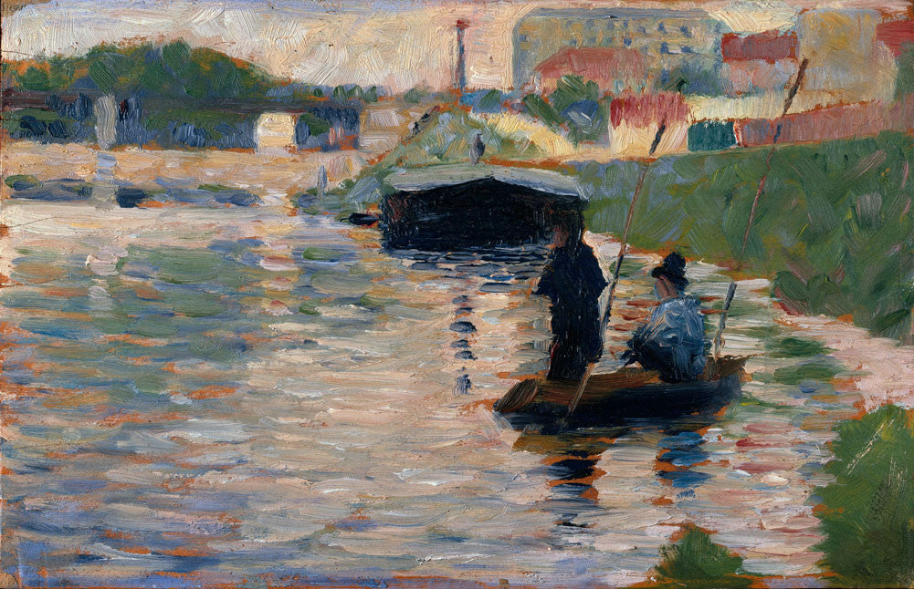 Georges Seurat - View of the Seine