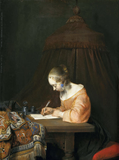 Gerard ter Borch - A Woman Writing a letter