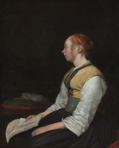 Gerard ter Borch - Sitting Young Woman