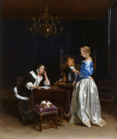 Gerard ter Borch - The Letter