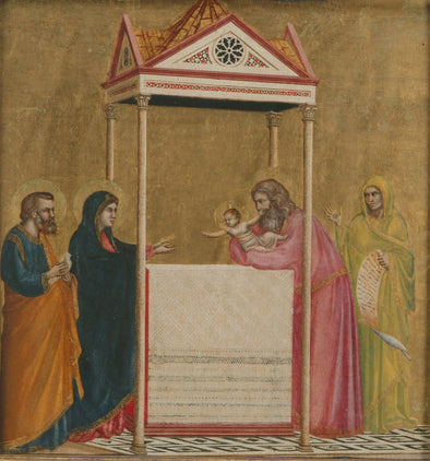 Giotto - The Presentation of the Christ Child in the Temple