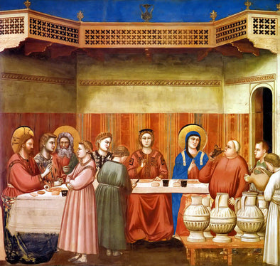 Giotto - The Wedding Feast at Cama