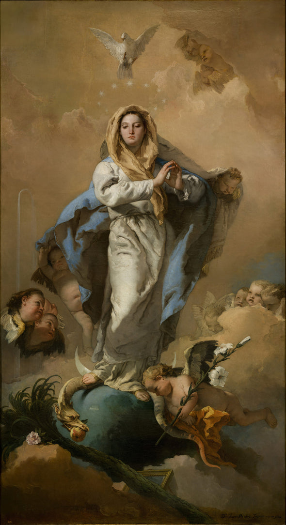 Giovanni Battista Tiepolo - The Immaculate Conception