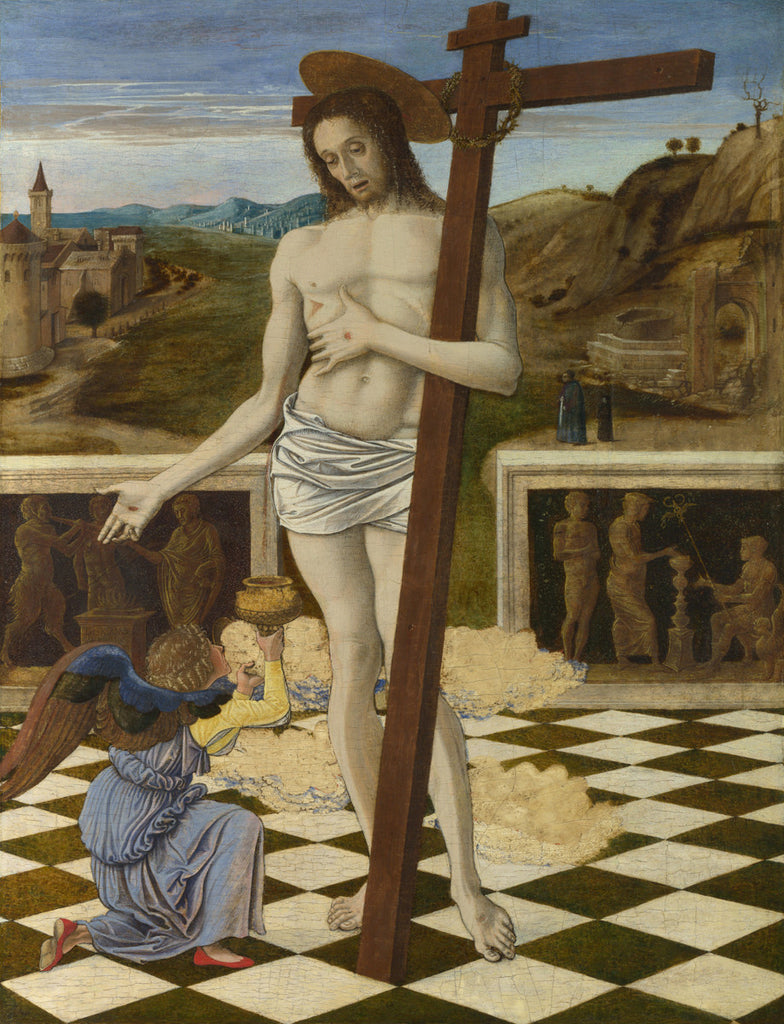 Giovanni Bellini - Blood of the Redeemer