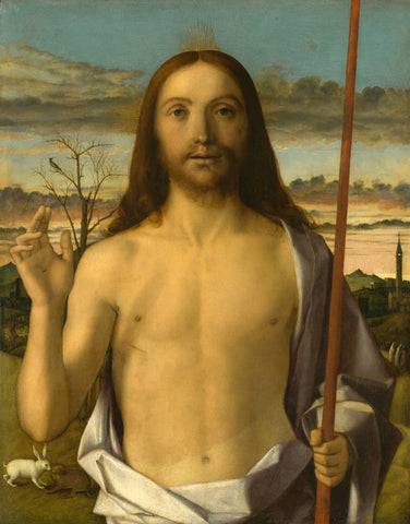 Giovanni Bellini - Christ Blessing