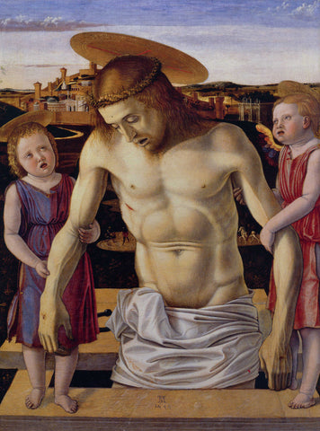Giovanni Bellini - Dead Christ Supported by Two Angels