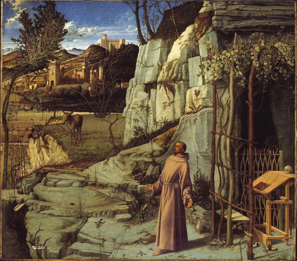 Giovanni Bellini - The Ecstasy of St. Francis