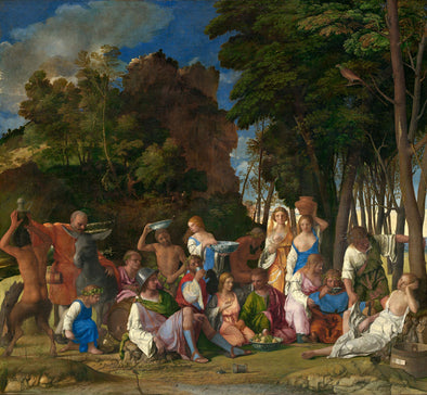 Giovanni Bellini - The Feast of the Gods