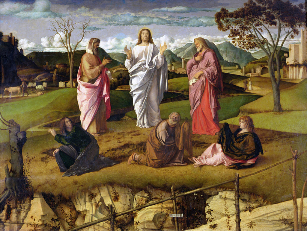 Giovanni Bellini - The Transfiguration of Christ