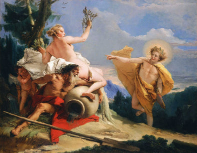 Giovanni Battista Tiepolo - Apollo and Daphne