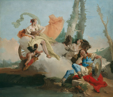 Giovanni Battista Tiepolo - Rinaldo Enchanted by Armida