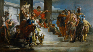 Giovanni Battista Tiepolo - Scipio Africanus Freeing Massiva