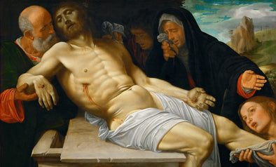 Girolamo Savoldo - The Lamentation of Christ