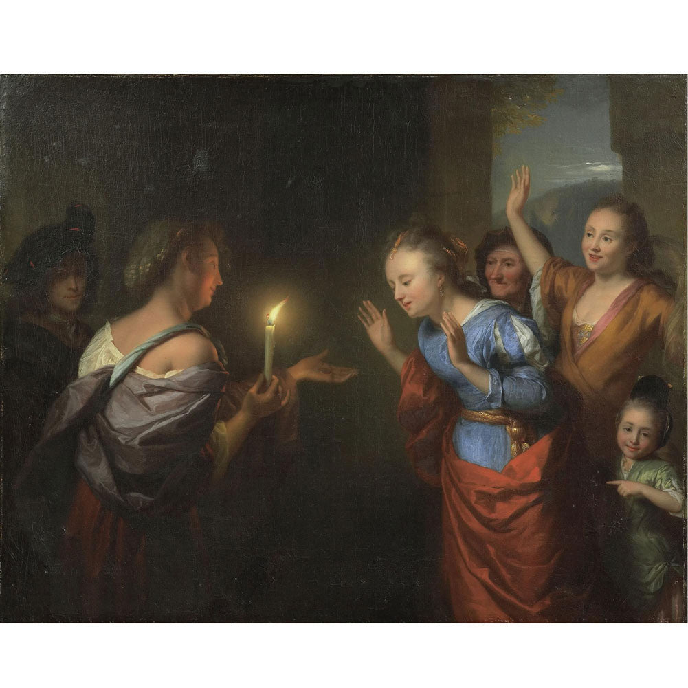 Godfried Schalcken - The Parable of the Lost Piece of Silver